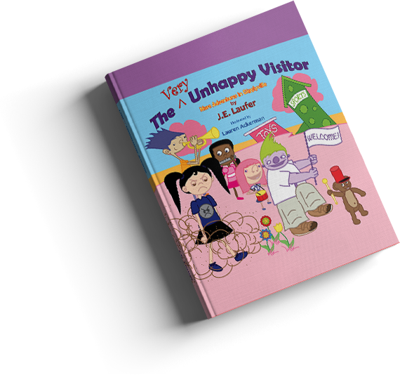 The Very Unhappy Visitor - Our Newest Book