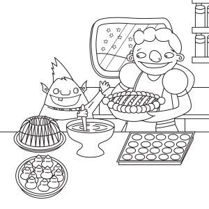 Simply Sharing Shabbat Coloring Page