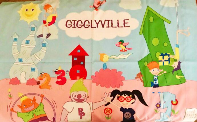 Gigglyville Pillowcase