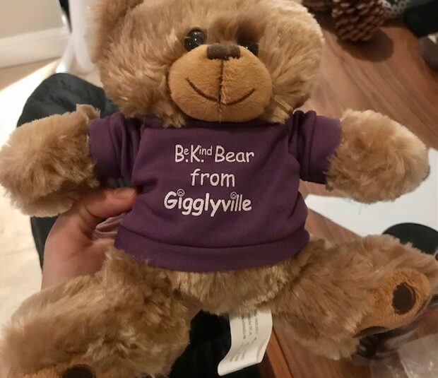 Be Kind Bear from Gigglyville
